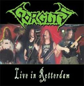 Gorguts Live in Rotterdam album cover