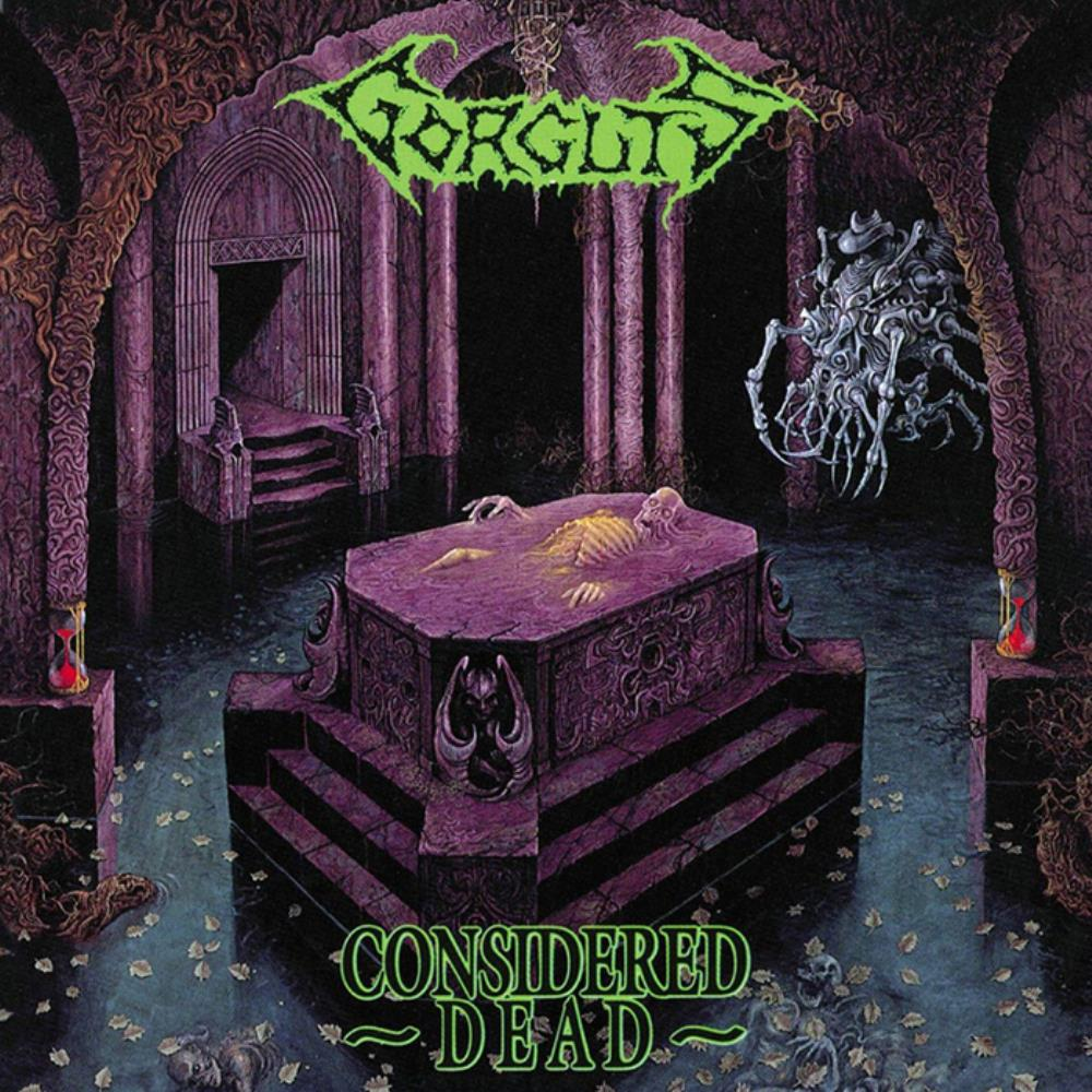 Considered Dead by GORGUTS album cover