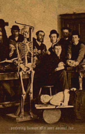Gnaw Their Tongues Prefering Human Skin Over Animal Fur album cover