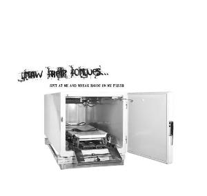 Gnaw Their Tongues - Spit at Me and Wreak Havoc on My Flesh CD (album) cover