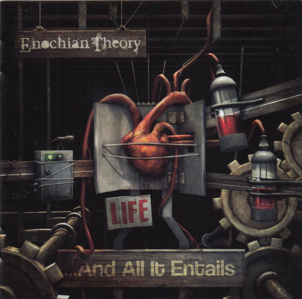 Life ... And All It Entails by ENOCHIAN THEORY album cover