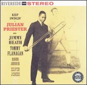 Julian Priester - Keep Swingin' CD (album) cover