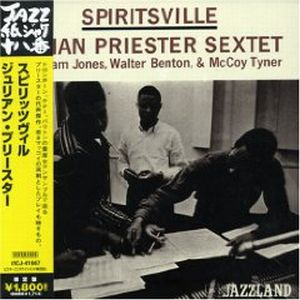 Julian Priester - Spiritsville CD (album) cover