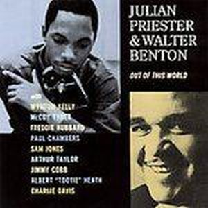 Julian Priester Out Of This World ( with Walter Benton) album cover
