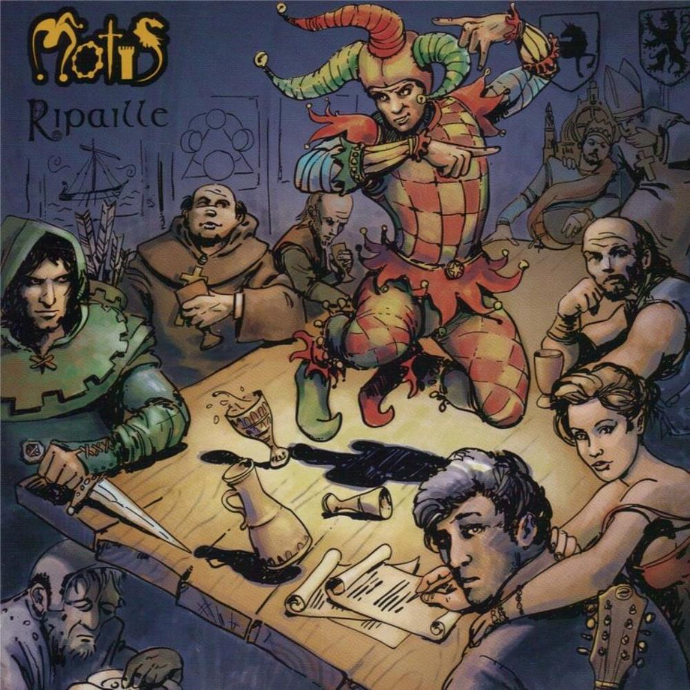 Motis - Ripaille CD (album) cover