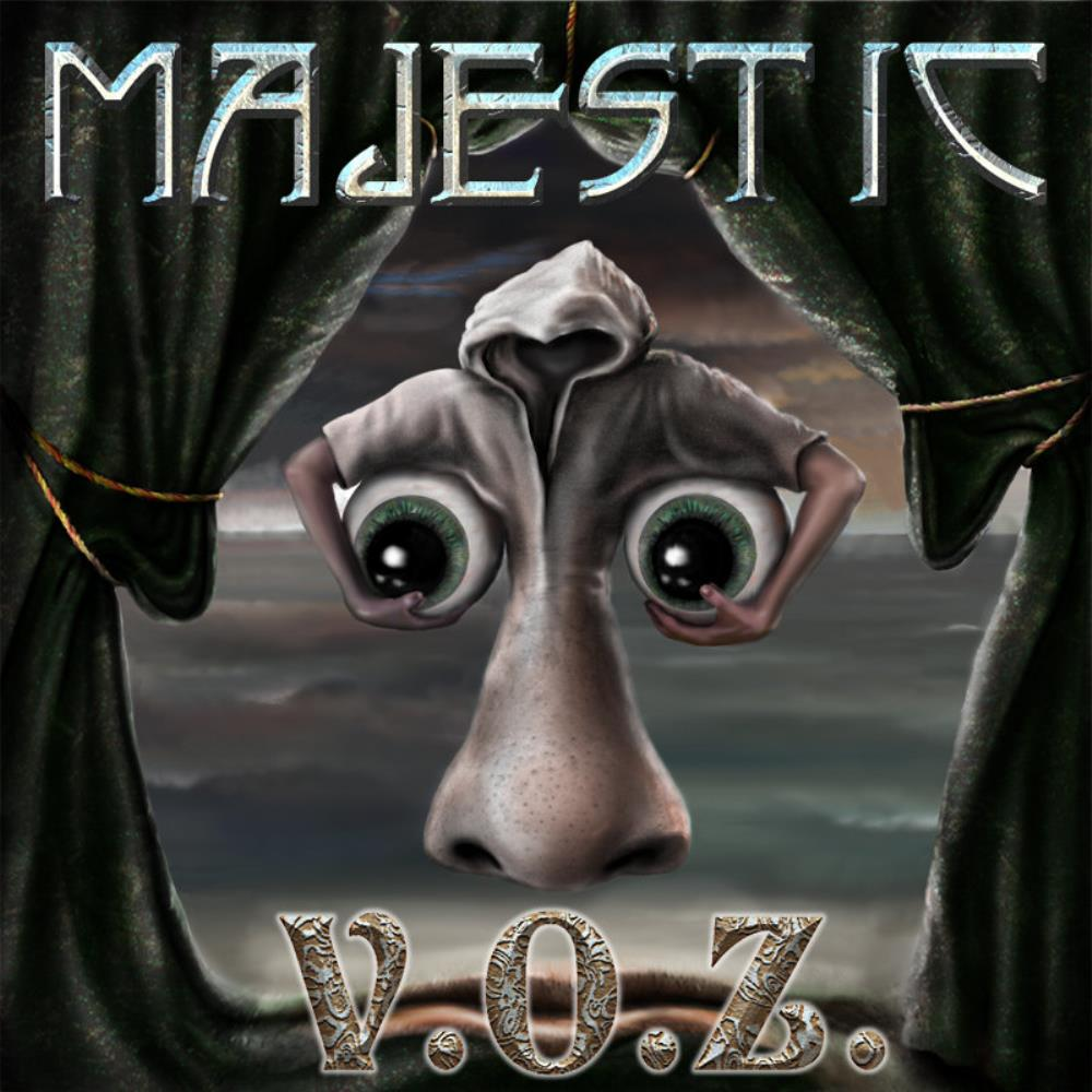 Majestic - V.O.Z. CD (album) cover