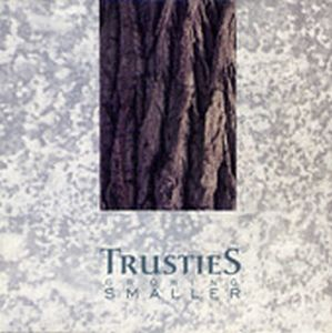 Growing Smaller by TRUSTIES album cover