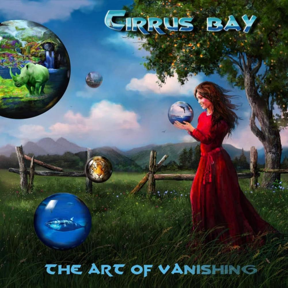 The Art Of Vanishing by CIRRUS BAY album cover