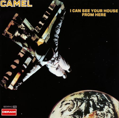 Camel - I Can See Your House From Here CD (album) cover