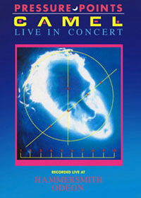 Camel - Pressure Points - Live in Concert CD (album) cover