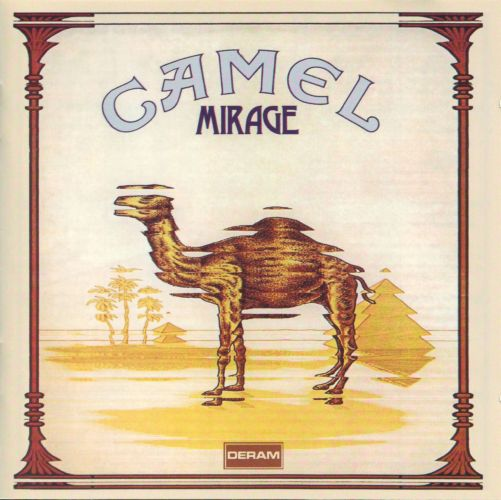 Mirage by CAMEL album cover