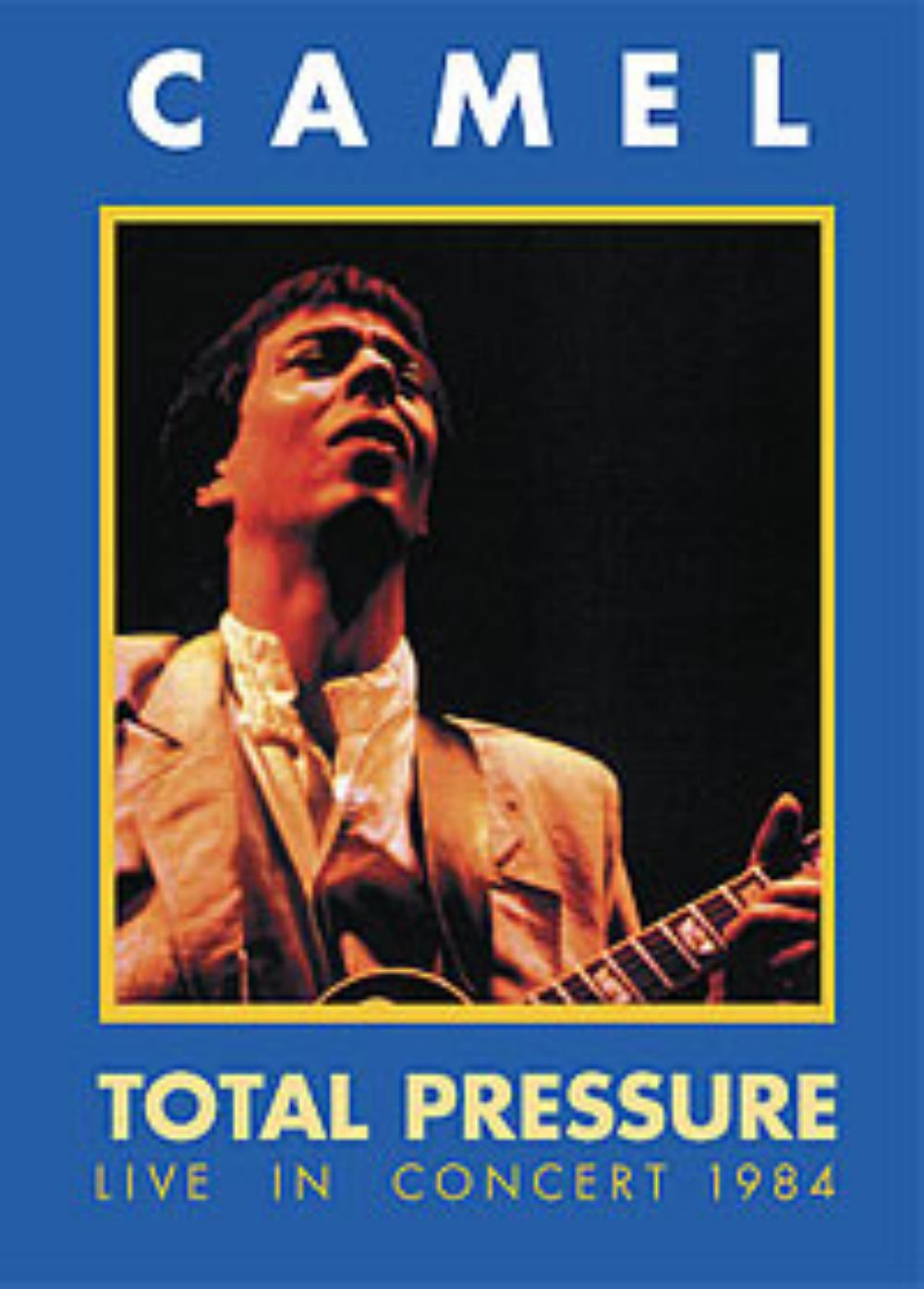 Camel Total Pressure - Live In Concert 1984 album cover