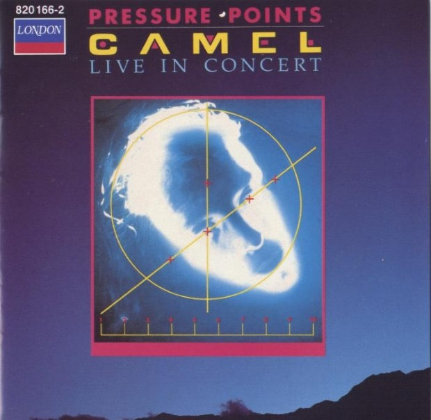Camel - Pressure Points CD (album) cover