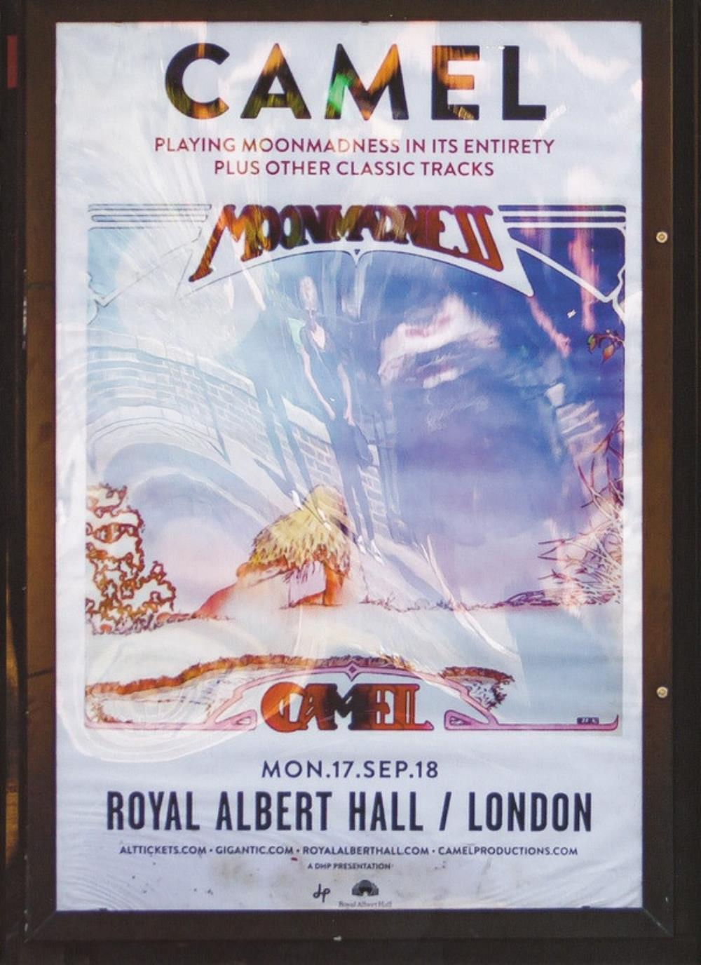Camel - Live At The Royal Albert Hall CD (album) cover