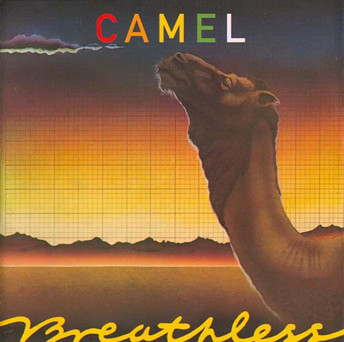 Camel - Breathless CD (album) cover