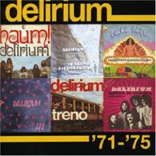 Delirium - '71-'75 CD (album) cover