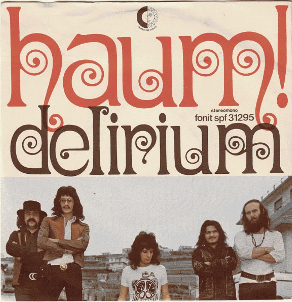 Haum! by DELIRIUM album cover