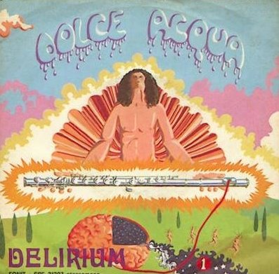 Delirium - Dolce Acqua CD (album) cover
