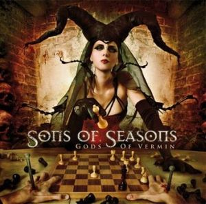 Sons Of Seasons Gods of Vermin album cover