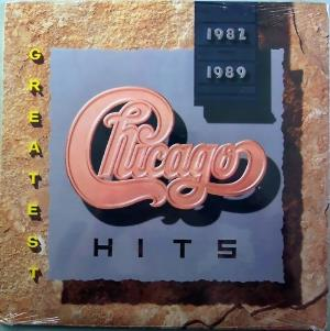 Chicago Greatest Hits 1982-1989 album cover