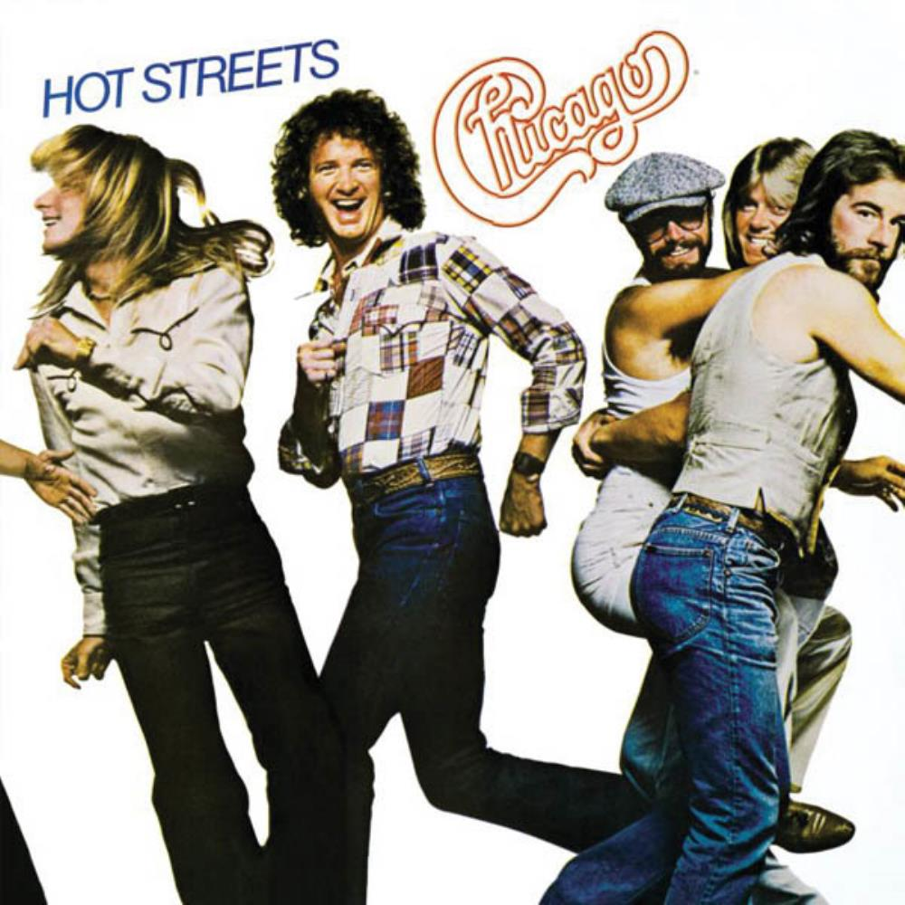 Hot Streets by CHICAGO album cover