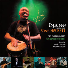 Djabe -  Sipi benefit concert (feat. Steve Hackett) CD (album) cover