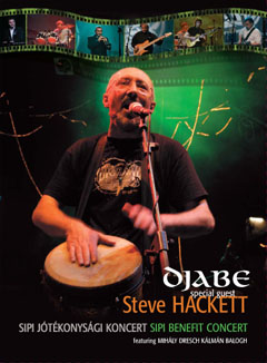 Djabe - Sipi Benefit Concert (featuring Steve Hackett) (DVD) CD (album) cover