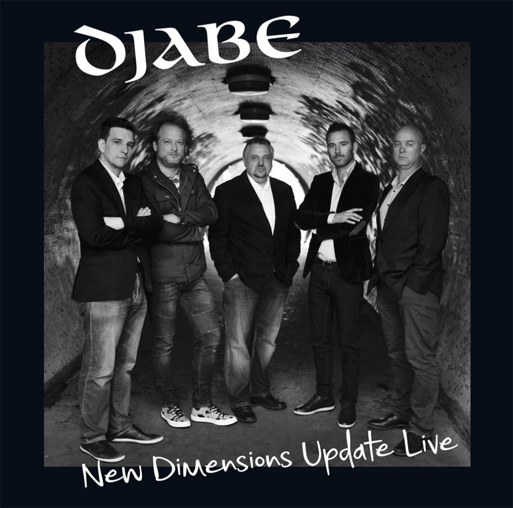 New Dimensions Update Live by Djabe album rcover