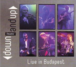 Djabe Down And Up - Live in Budapest album cover