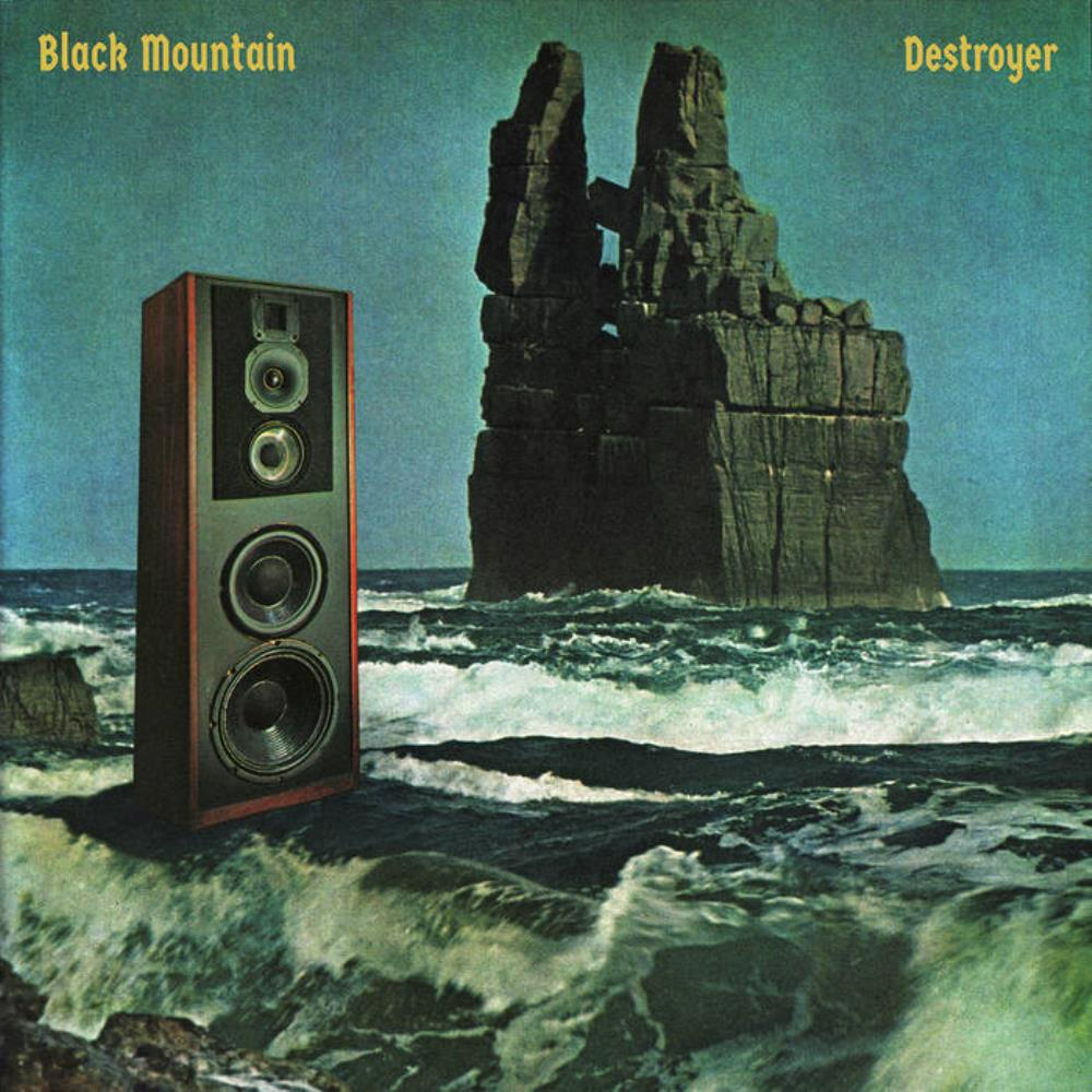 Black Mountain - Destroyer CD (album) cover