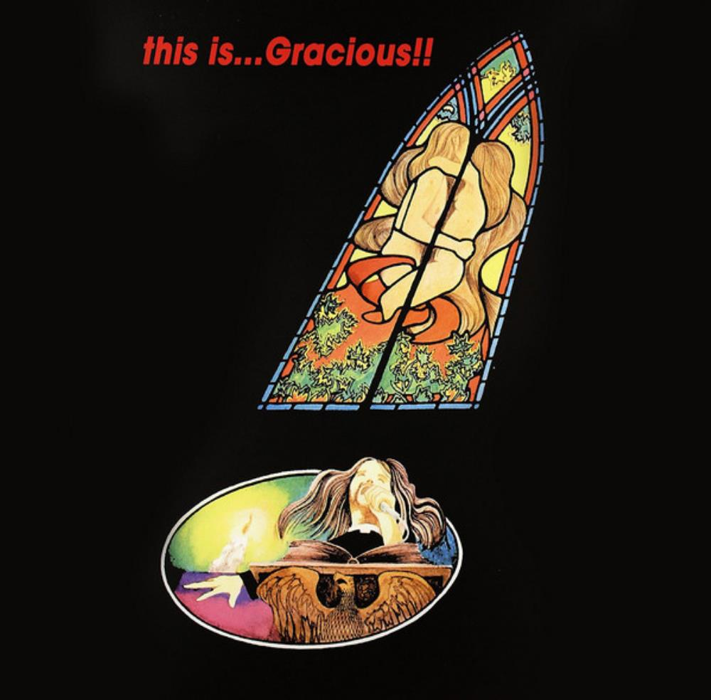 Gracious - This Is ... Gracious !! CD (album) cover