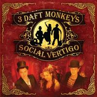 3 Daft Monkeys - Social Vertigo CD (album) cover