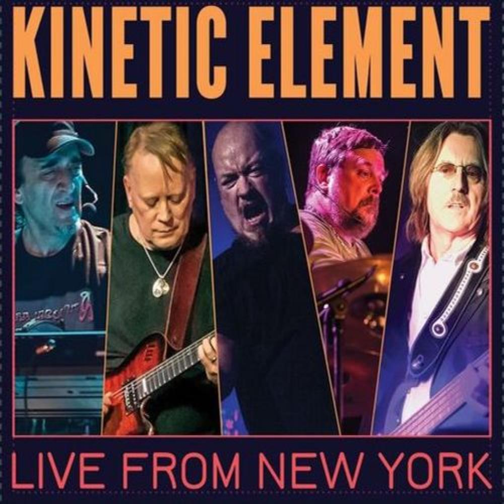 Kinetic Element Live from New York album cover