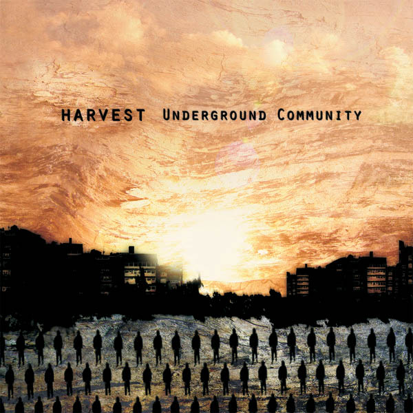 Harvest - Underground Community CD (album) cover