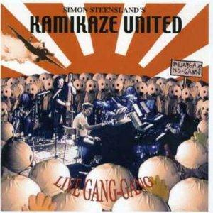 Simon Steensland Kamikaze United: Live Gang-Gang album cover