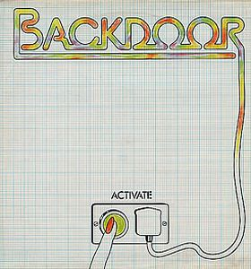 Back Door Activate album cover