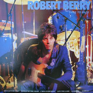 Robert Berry Back to Back album cover