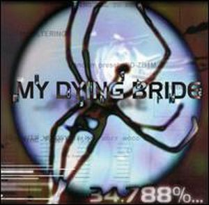 My Dying Bride - 34.788%...Complete CD (album) cover