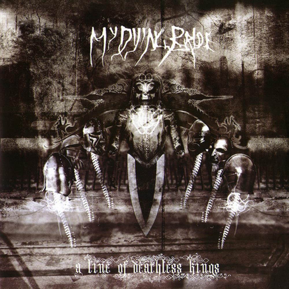 My Dying Bride - A Line Of Deathless Kings CD (album) cover