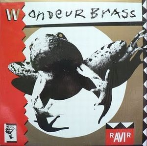 rAVIr by WONDEUR BRASS album cover