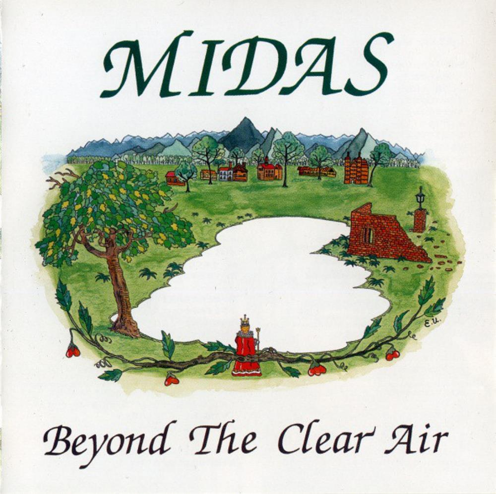 Midas - Beyond The Clear Air CD (album) cover