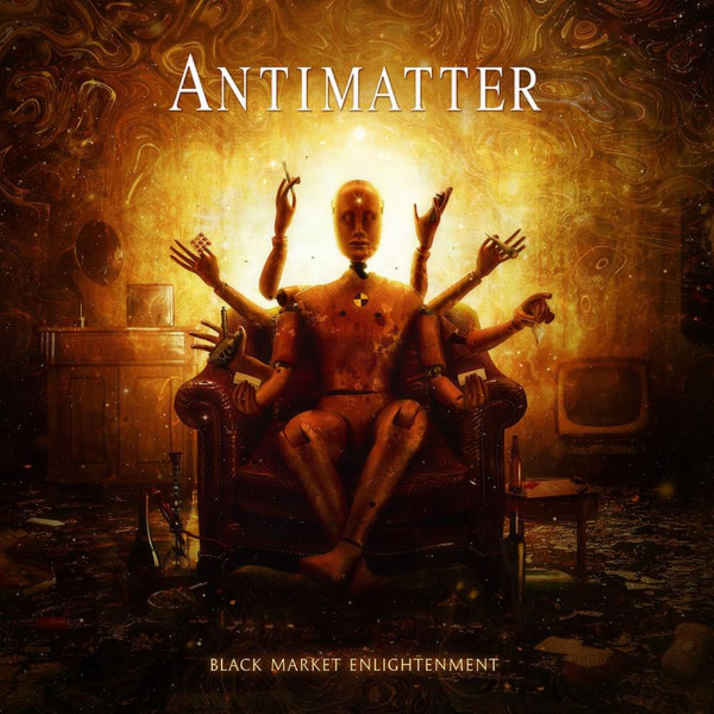 Black Market Enlightenment by ANTIMATTER album cover