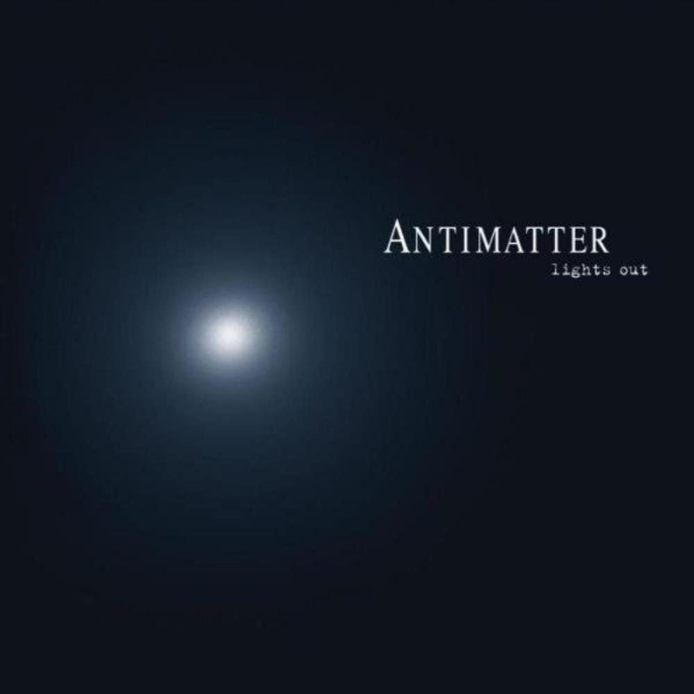 Antimatter - Lights Out CD (album) cover