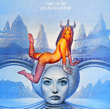Lenny White - Venusian Summer CD (album) cover