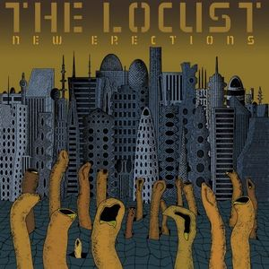 The Locust - New Erections CD (album) cover