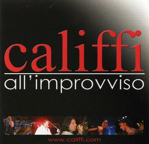 All'Improvviso by CALIFFI, I album cover