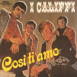 I Califfi Cos� ti Amo album cover