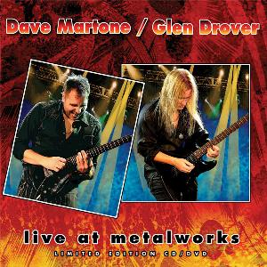 Live at Metalworks (with Glen Drover) by MARTONE album cover