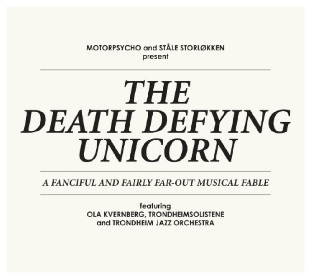 Motorpsycho - Motorpsycho and Ståle Storløkken: The Death Defying Unicorn CD (album) cover