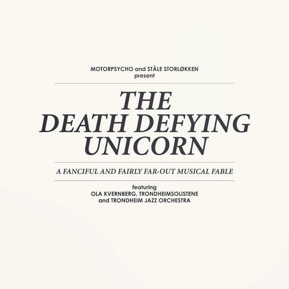 Motorpsycho - Motorpsycho & Ståle Storløkken: The Death Defying Unicorn CD (album) cover